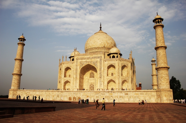 The Taj, in all its might and glory.