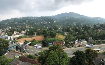 View from the Kandyan Arts Restaurant