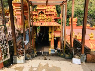 Entrance to the Seetha Amman temple, where Sita was help captive